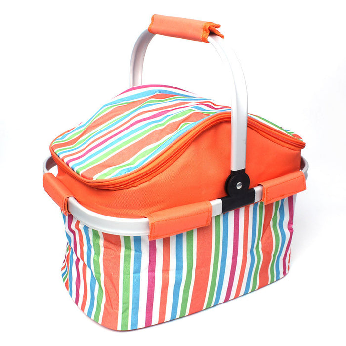 Foldable Cargo Trunk Organizer Washable Waterproof Storage with Reinforced Handles