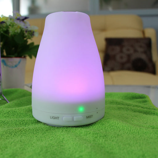 160ml Fragrance Diffuser Essential Oil Automatically Change The Lights Popular Aromatherapy Diffuser  , Auto Shut-Off, and Adjustable Mist Modes for Home, Office, Bedroom