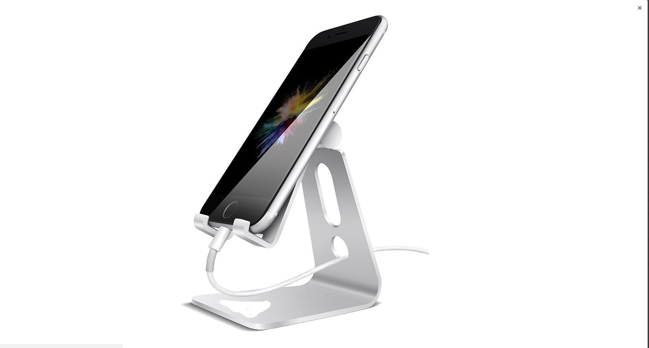 Adjustable Cell Phone Stand, iPhone Stand : [UPDATE VERSION] Cradle, Dock, Holder For Switch, iPhone 7 6 6s Plus 5 5s 5c charging, Accessories Desk, all Android Smartphone