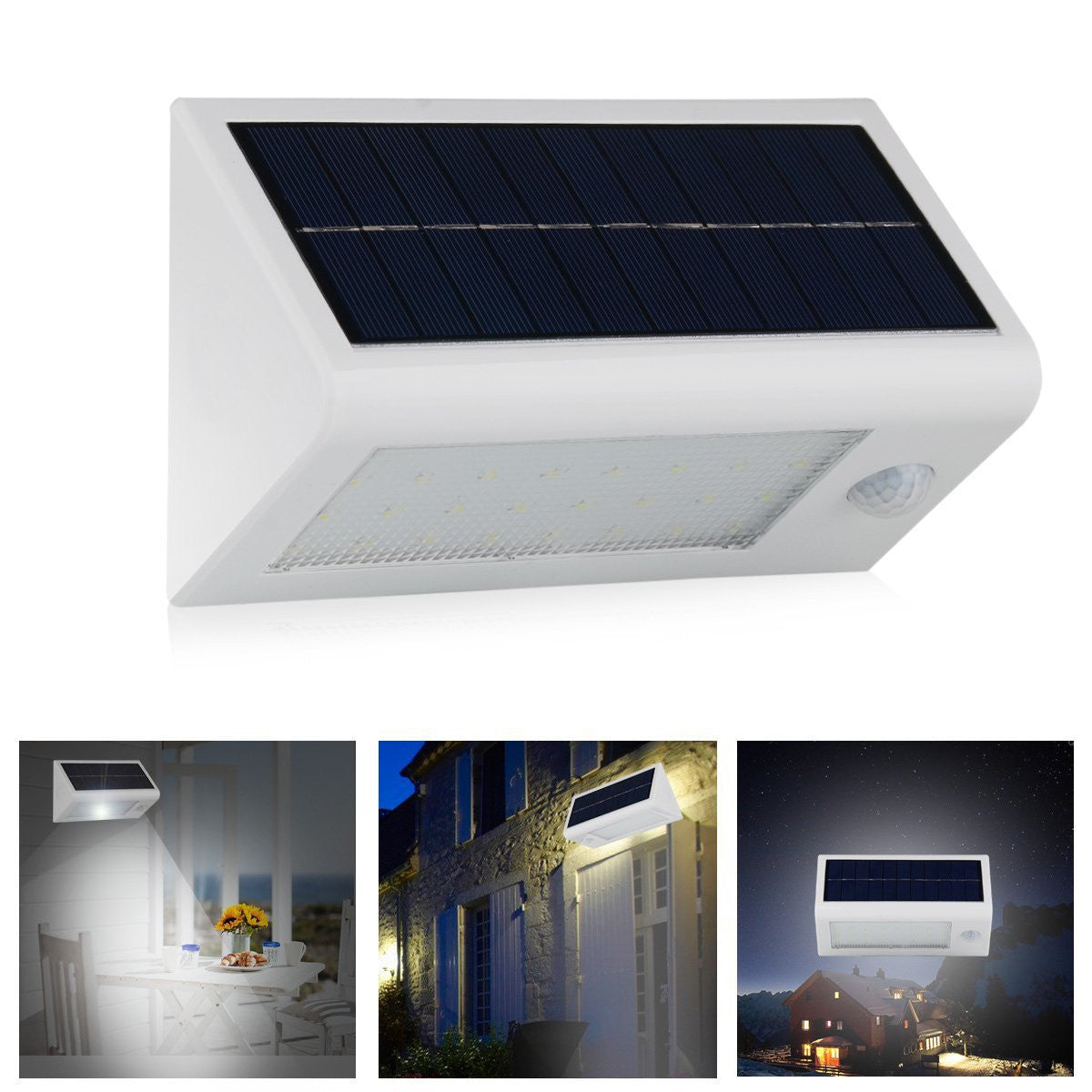 Solar lights bright 20led solar power led security lights with solar lights bright 20led solar power led security lights with motion sensor wireless waterproof wall lights for diveway patio garden path 1pack aloadofball Choice Image