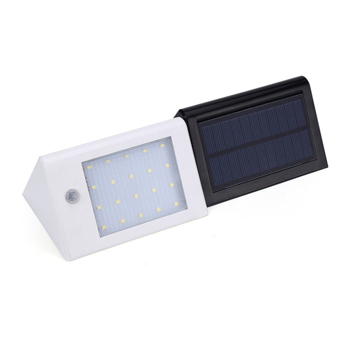 Solar Lights Bright 20LED Solar Power Led Security Lights with Motion Sensor Wireless Waterproof Wall Lights for Diveway Patio Garden Path 1Pack