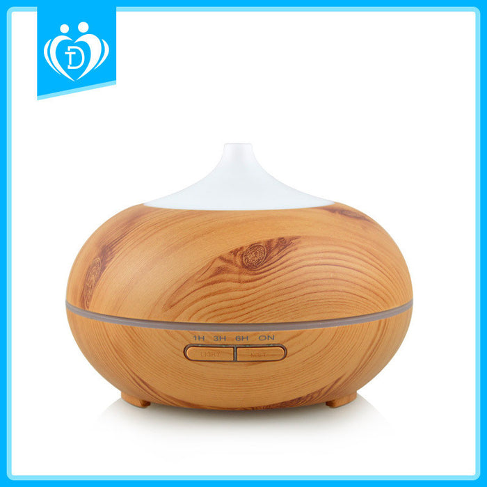 Essential Oil Diffuser, 2017 Model Aromatherapy Diffuser, 14 Color Night Light, Best Wood Grain, Mothers Day Gift & Birthday Gifts Edition