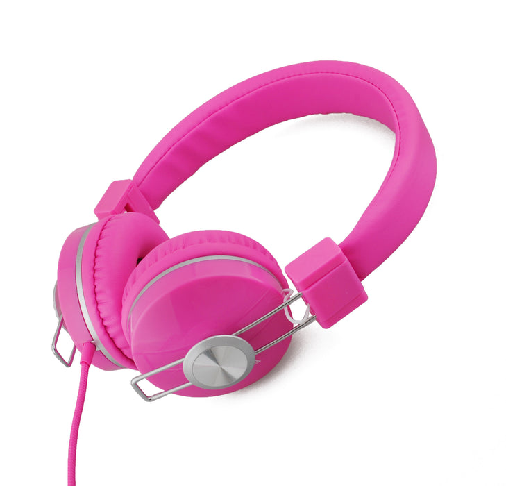BoostCare Kids Headphones, Wired Over Ear Headphones with Cat Ears, 85dB Volume Limited, Food Grade Silicone, 3.5mm Jack