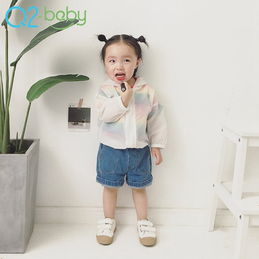 new wear sun protection clothing summer infants baby top zipper jacket