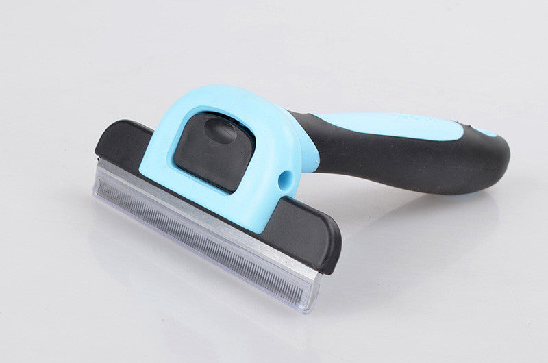 Deshedding Tool and Grooming Brush for Dogs and Cats,with Short to Long Hair - Dramatically Reduces Shedding for Small Medium Large Pets