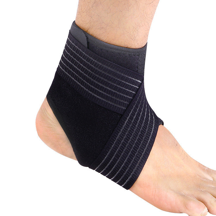 Breathable Ankle Support Brace with Adjustable Strap - Support for Running, Basketball, Ankle Sprain, Plantar Fasciitis, and etc - Suitable for Men/Women