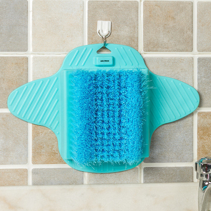 Foot Scrub Brush Exfoliating Feet Scrubber Washer Spa for Shower