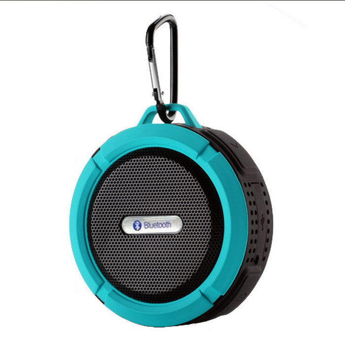 Shower Speaker, Wireless Waterproof Speaker with 5W Driver, Suction Cup, Buit-in Mic, Hands-Free Speakerphone