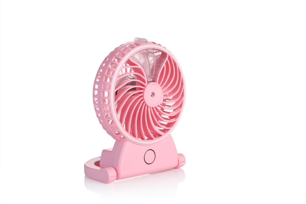 Portable Fan, mini usb rechargeable fan with 2600mAh Power Bank and Flash light,for Traveling,Fishing,Camping,Hiking,Backpacking,BBQ,Baby Stroller,Picnic,Biking,Boating (Black)