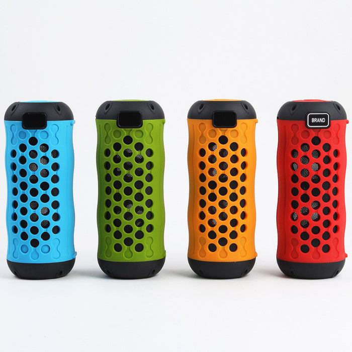 Mini Stereo Bluetooth Speaker Portable Rechargeable Wireless Speaker 3D Surround Compatible with Smartphones, Tablets and MP3 Devices