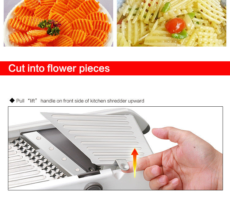 Smart Professional Madolin Slicer with 18 kinds of function