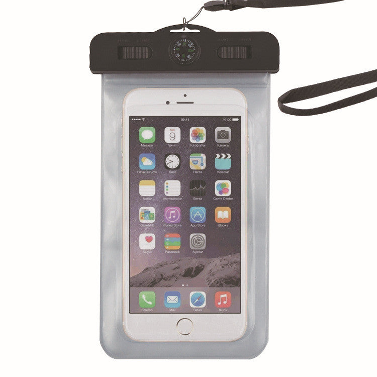 timeless design 38706 9ad8e Waterproof Cell Phone Case (Deluxe) - Dry Bag Pouch for Apple iPhone 6s, 6s  Plus Samsung Galaxy s7, s7 Edge, s6, s6 Edge, Any Phone up to 6 Inches - ...