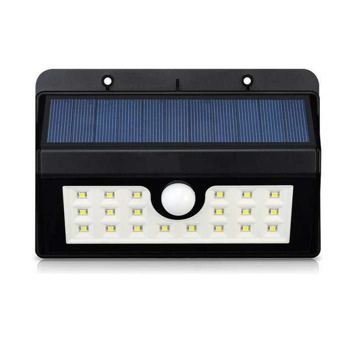 20 LED Solar Lights, Bright Outdoor Security Lights with Motion Sensor Wireless Waterproof Lights for Garden, Wall, Path, Patio, Front Door, Deck, Yard, Driveway - 1Pack