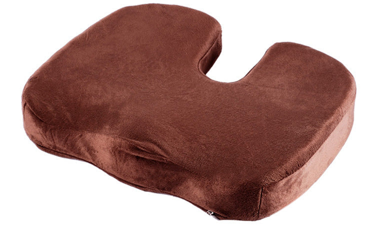 Coccyx Seat Cushion | Back Support, Tailbone and Sciatica Pain Relief, Washable Cover