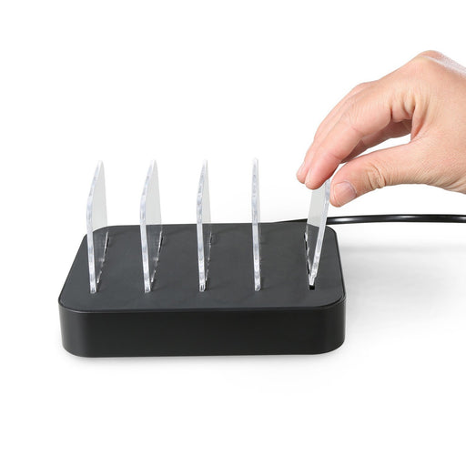 Detachable Universal Multi-Port USB Charging Station, 24W 4-Port USB Charging Dock