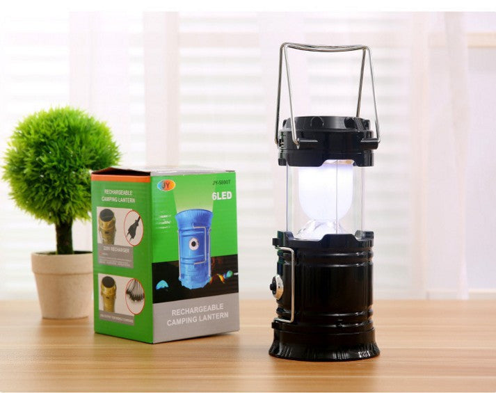 Pack Portable Outdoor LED Lantern with 6 AA Batteries - Camping Friendly Camping Lantern 2 PACK, 6 LED Ultra Bright Portable Camping Lantern Flashlight For Outdoor