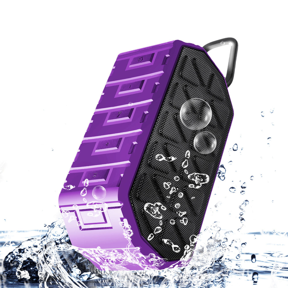 Portable Bluetooth Speakers for Outdoor, Waterproof Wireless Stereo with Dual-Driver, Crystal Clear Sound and Premium Bass (TWS & 12-Hour Playtime & Built-in Mic & 66-foot Bluetooth Range)