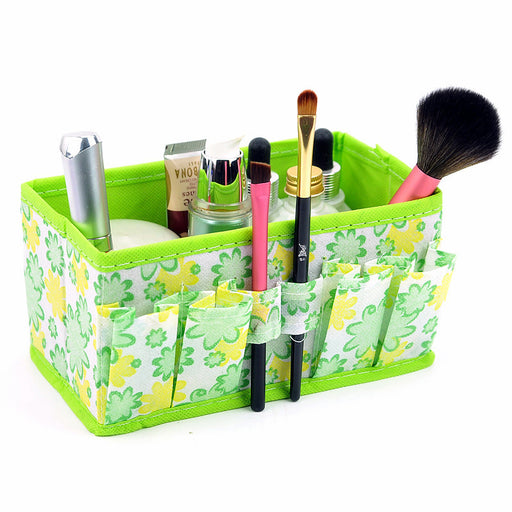 High Quality Folding Multifunction Make Up Storage Box Container large capacity Desktop Box Cosmetics Organizer