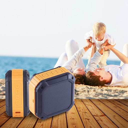 Portable Bluetooth 4.0 Speaker with 12 Hour Playtime for Outdoors or Shower