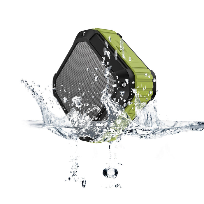 Portable Outdoor and Shower Bluetooth 4.1 Speaker SoundFit, Water Resistant, Wireless with 10 Hour Rechargeable Battery Life, Powerful 5W Audio Driver, Pairs with All Bluetooth Devices