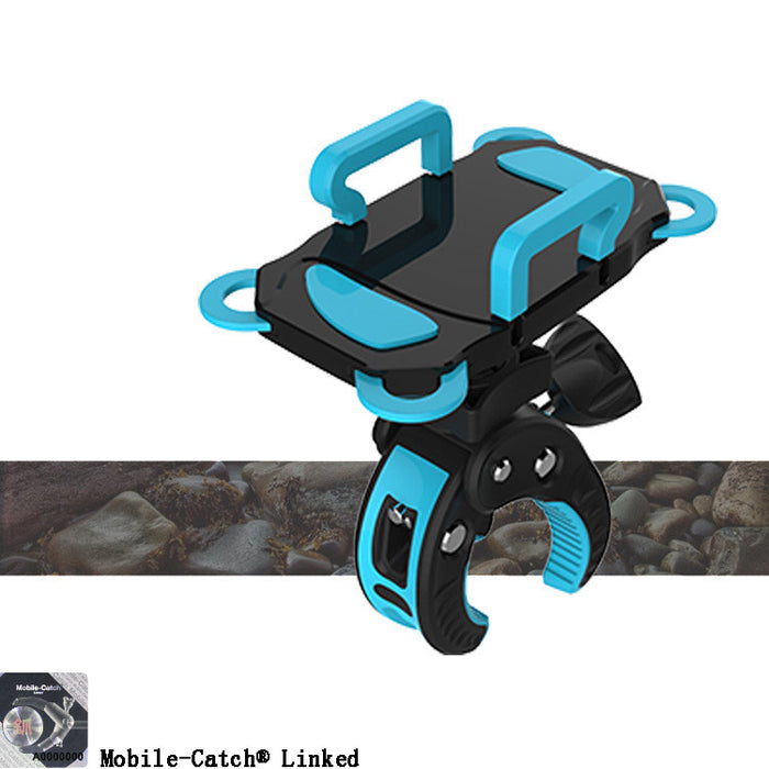 Bike Mount,Universal Cell Phone Bicycle Handlebar & Motorcycle Holder Cradle with 360 Rotate for iPhone 6s 6 5s 5c 5,Samsung Galaxy S5 S4 S3, Google Nexus 5 4 and GPS Device Up to 3.7in wide