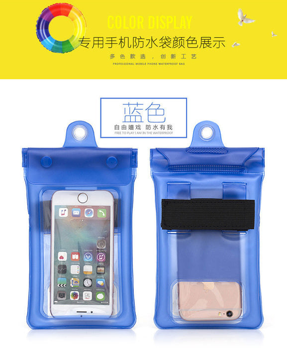 "Waterproof Case, Universal Dry Bag Pouch for Outdoor Activities for Devices up to 6.0"" [2-PACK]"