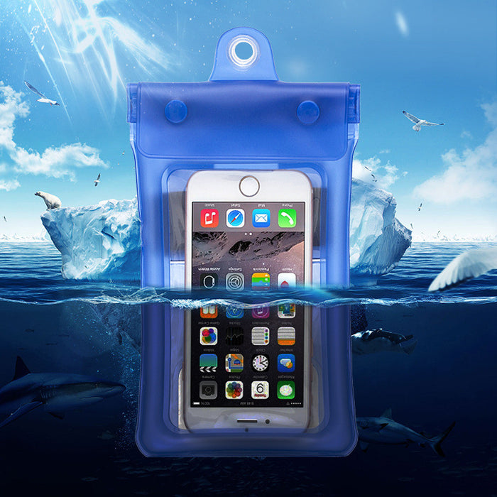 "Universal Waterproof Case,  CellPhone Dry Bag Pouch for Apple iPhone 6S 6,6S Plus, SE 5S, Samsung Galaxy S7, S6 Note 5 4, HTC LG Sony Nokia Motorola up to 6.0"" diagonal"