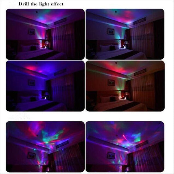 Rotation sleep soothing color changing aurora night light rotation sleep soothing color changing aurora night light projector with build in speaker relaxing mozeypictures Choice Image
