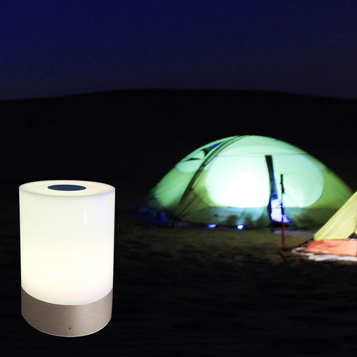 Lamp, Touch Sensor Bedside Lamps + Dimmable Warm White Light & Color Changing RGB for Bedrooms
