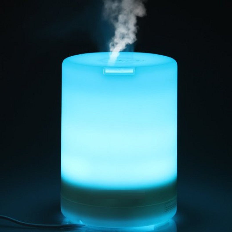 2nd Generation 300ml Aroma Essential Oil Diffuser Ultrasonic Air Humidifier with AUTO Shut off and 6-7 HOURS Continuous Diffusing - 7 Color Changing LED Lights and 4 Timer Settings