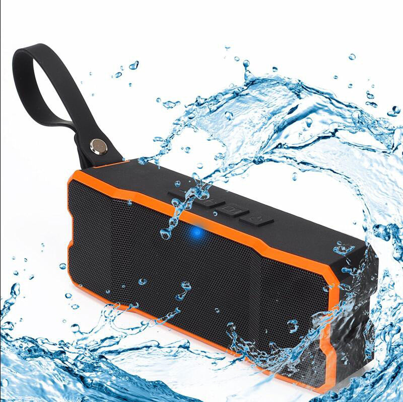 Portable Wireless Bluetooth Speakers Waterproof IP65Rating with 10W Enhanced Bass, Stereo Pairing, NFC Tech, Bluetooth 4.0 for iPhone 7/7Plus, iPad iPod and Android Phones