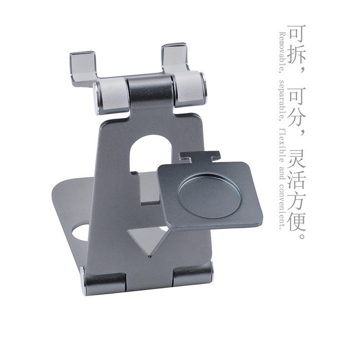 aluminum adjustable multi-angle cell phone stand, holder, dock - for iPhone, Samsung, and other android smartphone devices