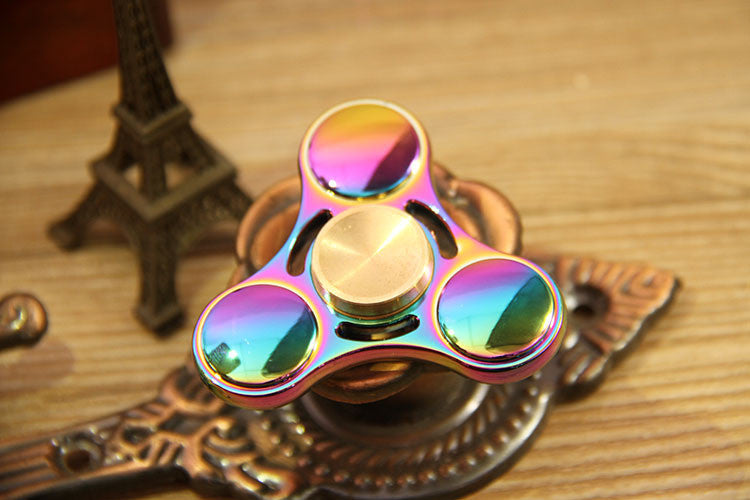 Fidget Spinner Toy Ultra Durable Stainless Steel Bearing High Speed 3-5 Min Spins Precision Metal Hand spinner EDC ADHD Focus Anxiety Stress Relief Boredom Killing Time Toys