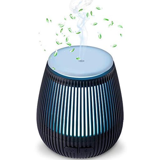 Essential Oil Diffuser Aromatherapy, Aroma Diffuser Humidifier with Cool Mist,7 Colored LED Night Lights,Waterless Automatically Shut-Off, for Home, Yoga, Office, Spa,Bedroom, Baby Room