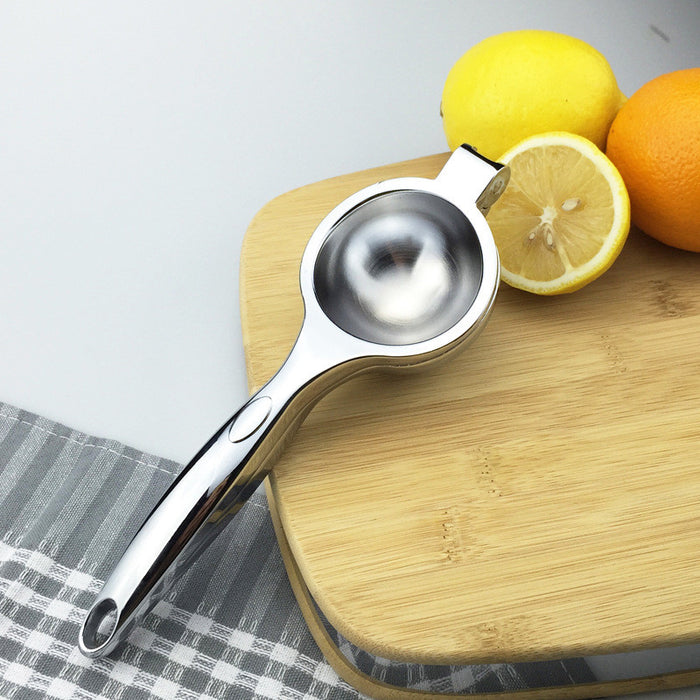Top Rated Premium Quality Stainless Steel Lemon Squeezer with Silicone Handles