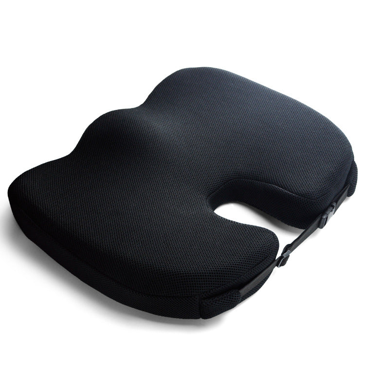 Comfort 100% Pure Memory Foam Luxury Seat Cushion, Orthopedic Design To Relieve Back, Sciatica and Tailbone Pain