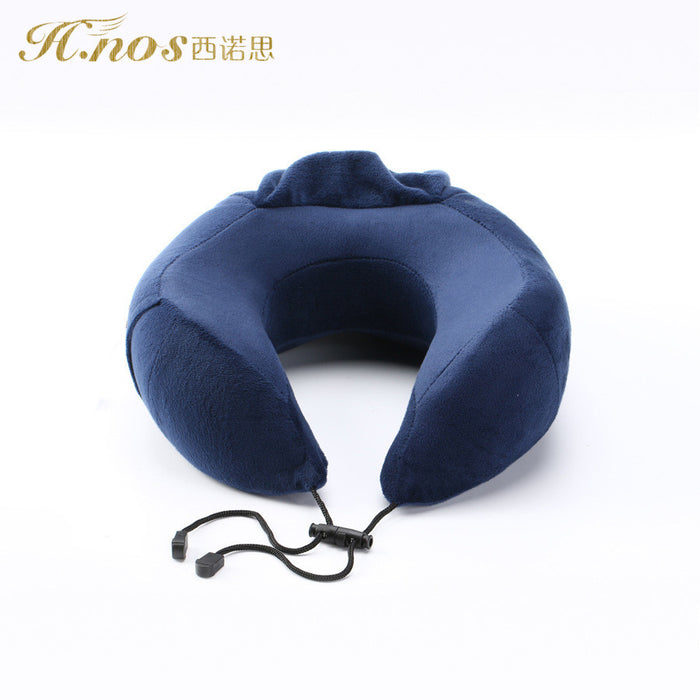 Travel Pillow | Luxurious Memory Foam Neck Pillow | Hypoallergenic | Best Neck Pillows for Plane, Car & Train Travel | Perfect for Home Use, Massage & Camping