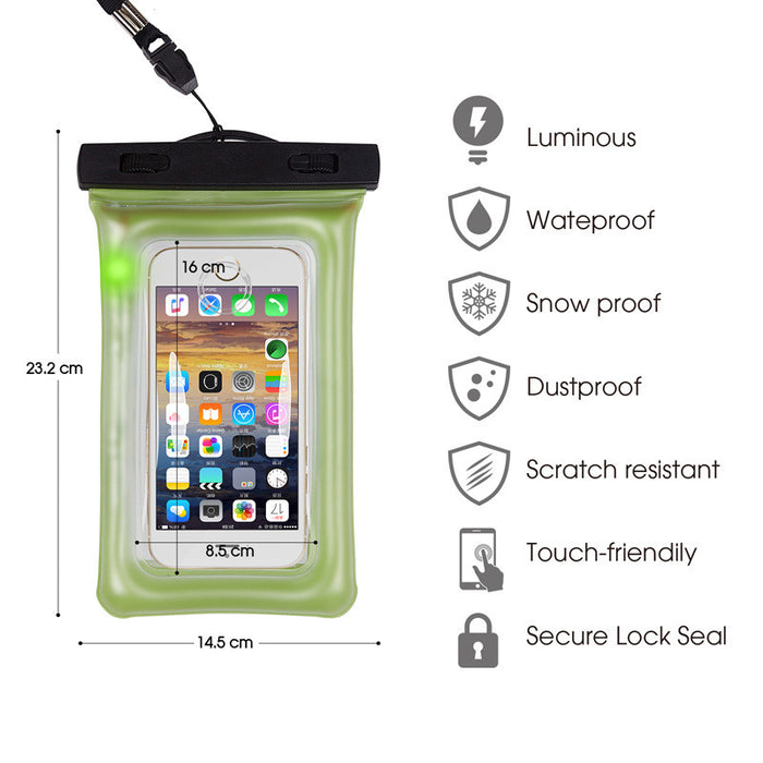 iPhone Waterproof Case - Stylish - Incredibly Easy To Seal Securely - Compatible With All Phone Models, Samsung, HTC, Sony, Nokia and more Up To 7 - 5 Year Warranty