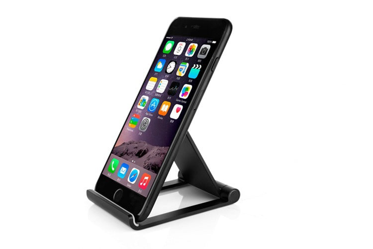 Multi-Angle Aluminum Cell Phone Stand, Foldable Tablet Stand Dock Holder, Mobile Phone Stand for iPhone, iPad, Samsung Galaxy, HTC, Nexus, LG, Tablet, E-reader and other Smartphone