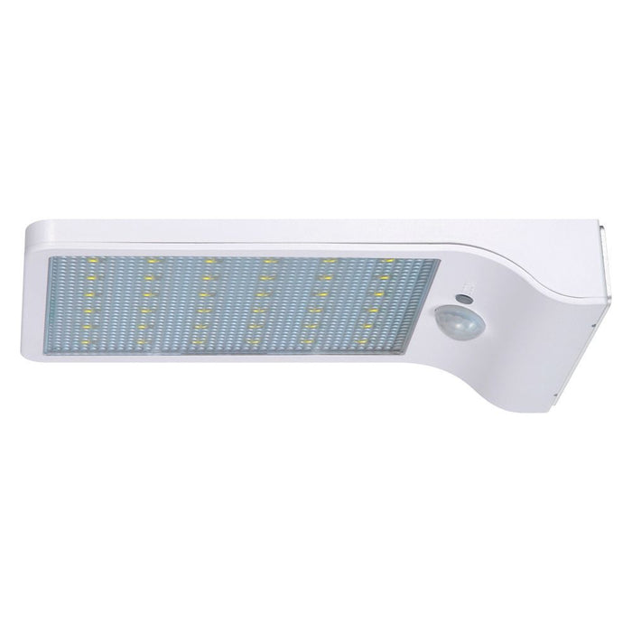 Upgraded 36LED Solar Wall Lights- 450Lumens Max Outdoor Lights- Motion Sensor detector- With Rechargeable 18650 Batteries