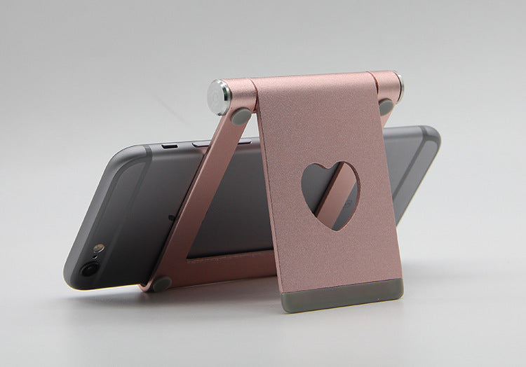 Multi-Angle Phone and Tablet Stand Holder, Foldable Aluminum Mobile Phone Stand Desktop Mount for iPhone, iPad, Samsung Galaxy, HTC, Nexus, LG, Tablet and other Smartphone
