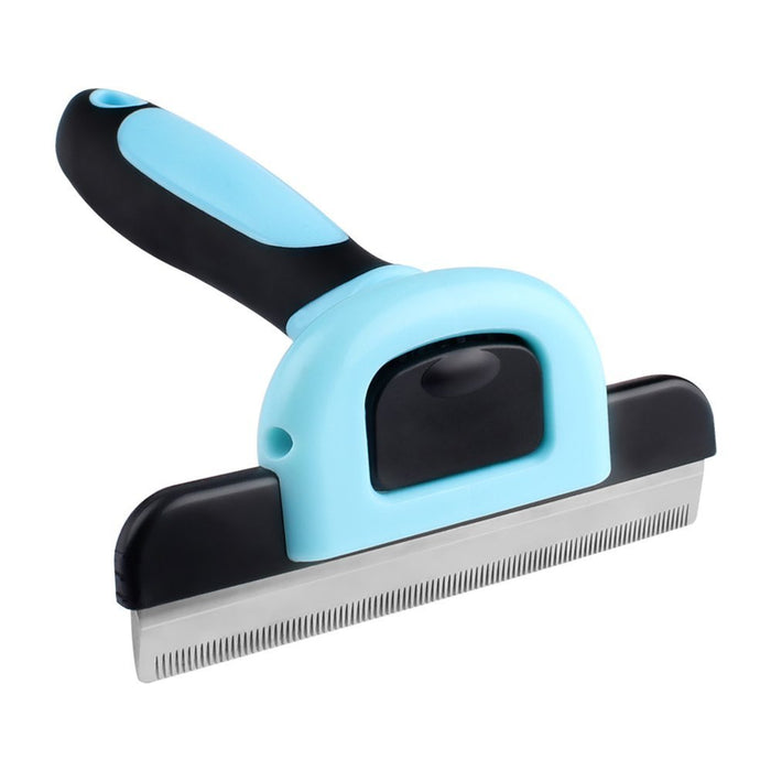 Pet Grooming Deshedding Tool for Dogs and Cats, Large
