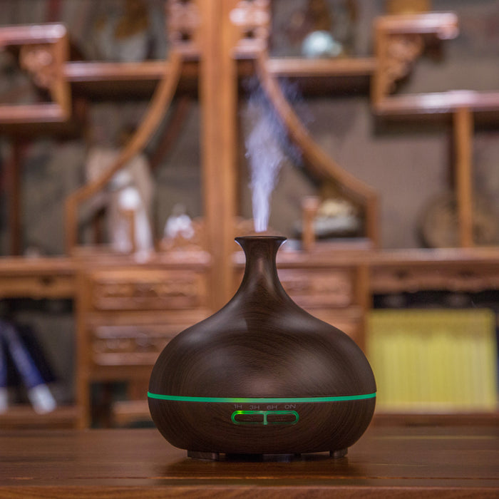 Oil Diffuser Essential Oils, 300ml Natural Oil Diffusing Ultrasonic Aroma Diffuser Air Humidifier for Home, Office, Spa, Gym