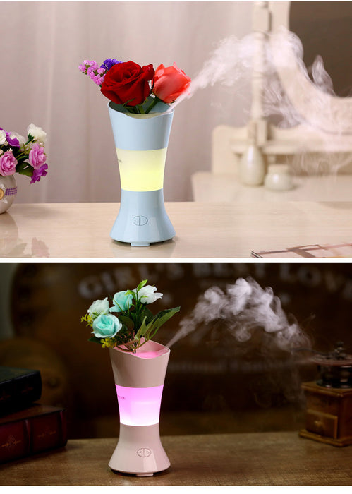 Aromatherapy Essential Oil Diffuser 14 Color Modes 100ML (3.4 ounces) Ultrasonic Humidifier 3-Hour Timer Setting Portable Size for Yogo Bedroom Office Living Room