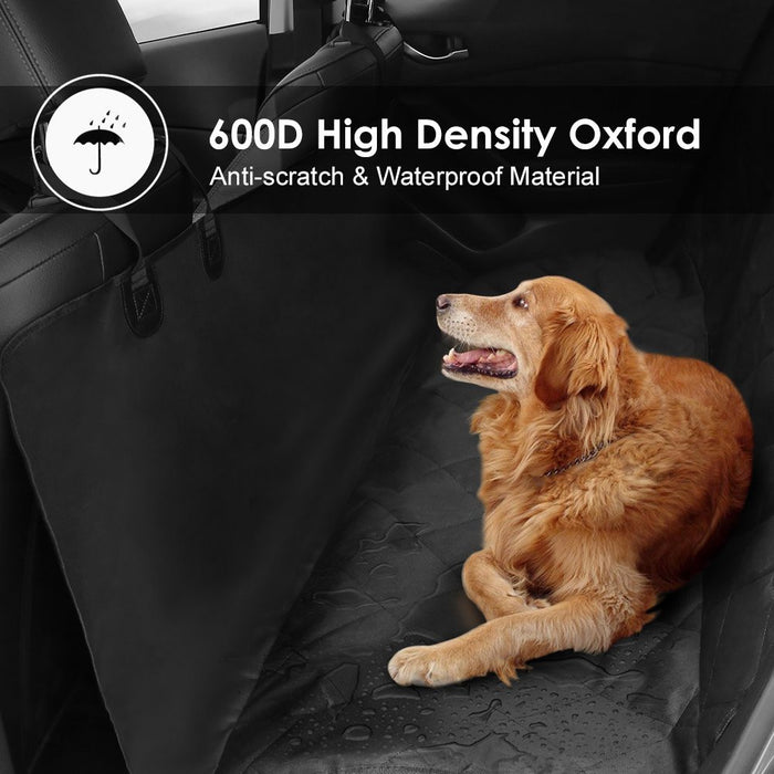 Pet Seat Cover, Dog Hammock, Waterproof Pet Car Seat Cover Protector with Non Slip Silicone Backing for Cars