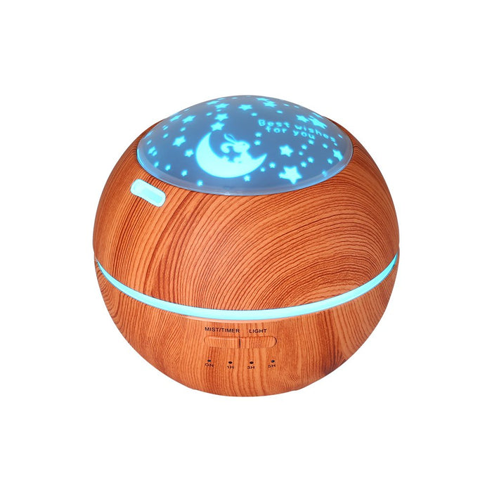 150ml Aromatherapy Essential Oil Diffuser Humidifier with 7 LED Color Changing Lamps and Waterless Auto Shut-Off for Home Office Baby Bedroom