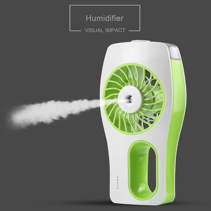 Handheld Fan,Portable Mini Misting Personal Cooling Fan with Soft Wind and Ultra-quiet for Travel,Home,and Office