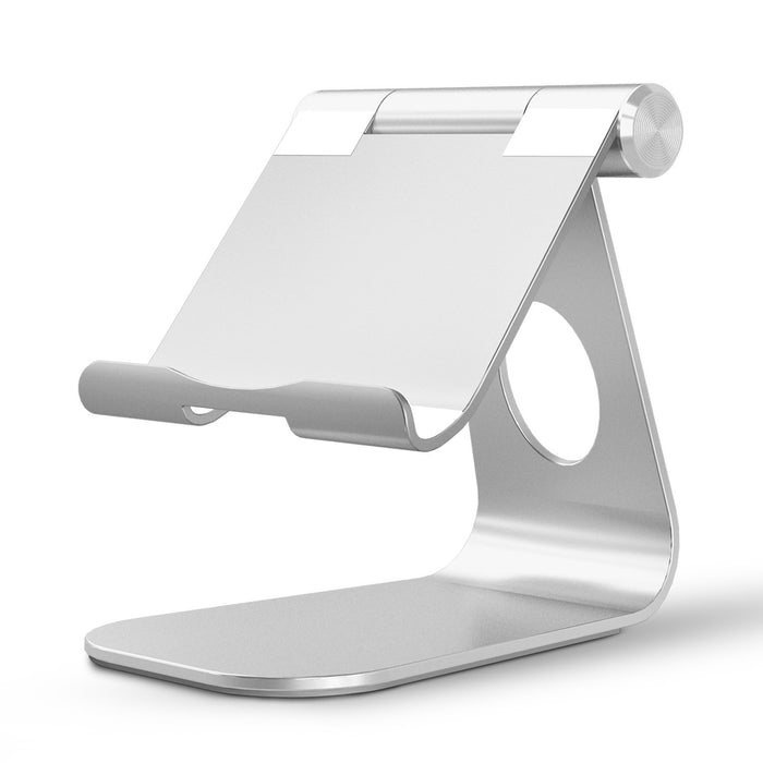 iPad Pro Stand, Multi-Angle Aluminum Stand, with Portable Adjustable Charging Dock for iPad Pro 12.9 9.7, iPad Air, Samsung Tablet etc, Durable Holder and Minimalist Design