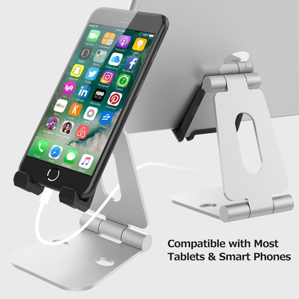 Adjustable Multi-angle Foldable Tablet Holder Stand For iPad iPhone Mobile HOUSE