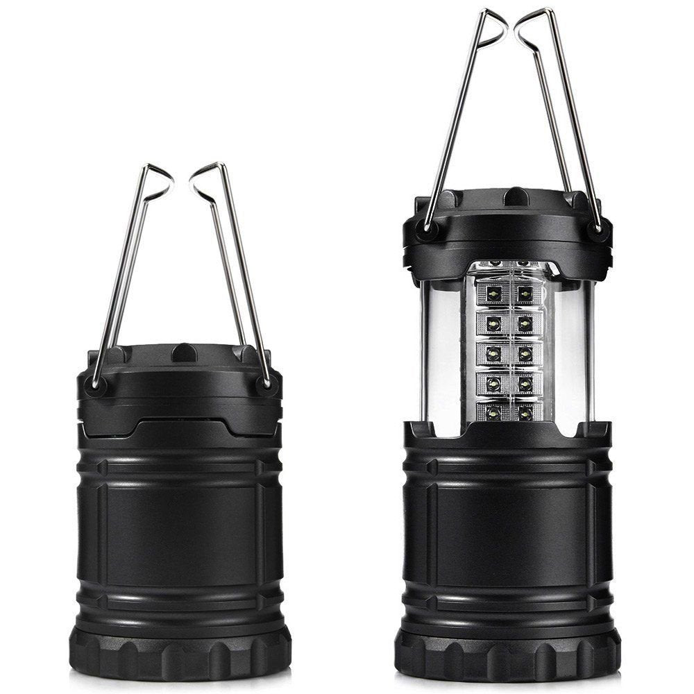 Camping Lights/Lanterns 1Piece Portable Collapsible 30-LED Outdoor Camping Hiking Lamp Lantern